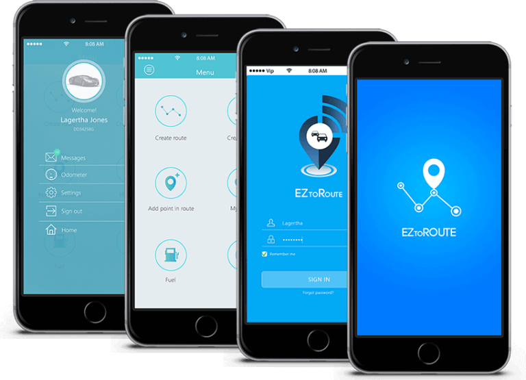 EZtoRoute mobile app